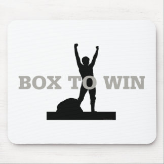 TOP Box to Win Mouse Pad