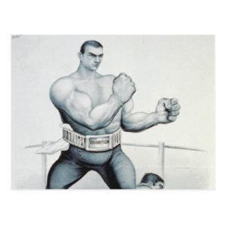 TOP Boxer Postcard