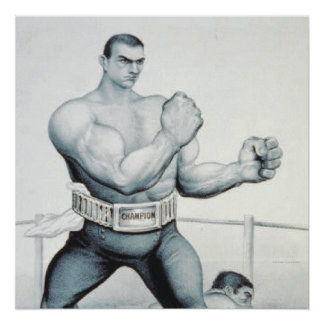 TOP Boxing Poster