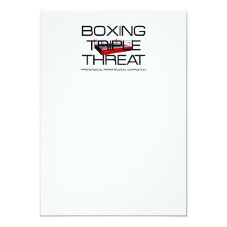 TOP Boxing Triple Threat Card