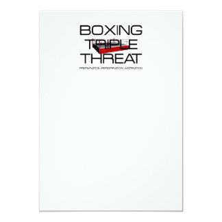 TOP Boxing Triple Threat Custom Invite