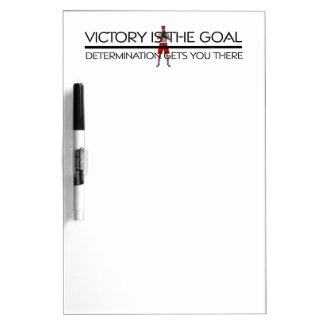 TOP Boxing Victory Slogan Dry Erase Board