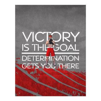 TOP Boxing Victory Slogan Flyer