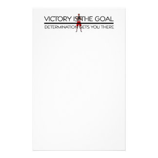 TOP Boxing Victory Slogan Stationery