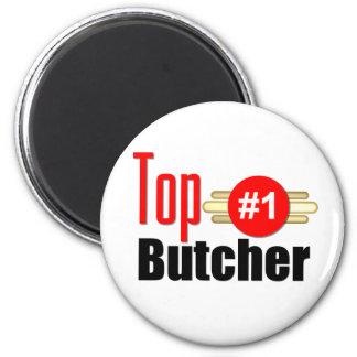 Top Butcher Fridge Magnet