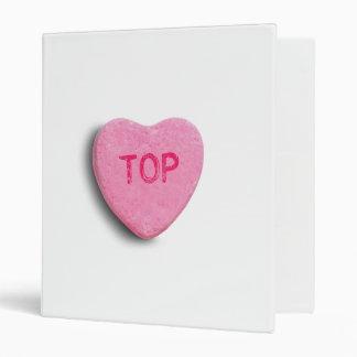 TOP CANDY HEART BINDER