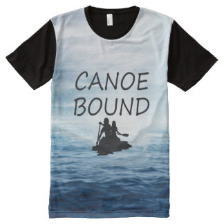 TOP Canoe Bound All-Over Print Shirt