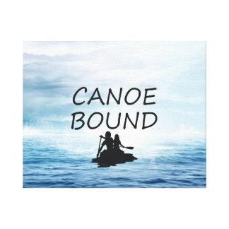 TOP Canoe Bound Canvas Print