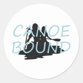 TOP Canoe Bound Stickers