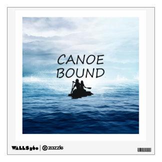 TOP Canoe Bound Wall Sticker