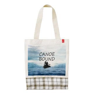 TOP Canoe Bound Zazzle HEART Tote Bag