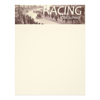 TOP Car Race Letterhead