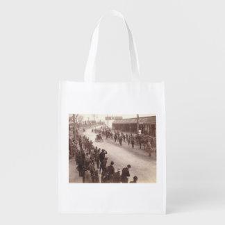 TOP Car Race Old School Grocery Bag