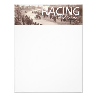 TOP Car Race Old School Personalized Invite