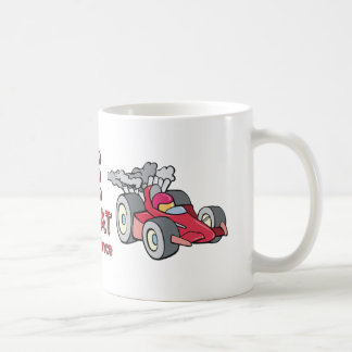 TOP Car Race Triple Threat Coffee Mug