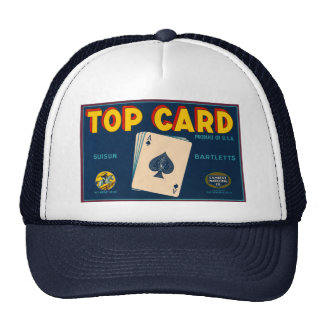 Top Card Trucker Hat