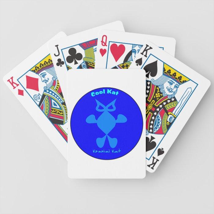 Top Cat, Cool Cat, Cool Kat Kranial Kat Bicycle Playing Cards