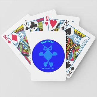 Top Cat, Cool Cat, Cool Kat Kranial Kat Bicycle Poker Cards