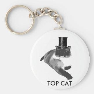 Top Cat Keychain