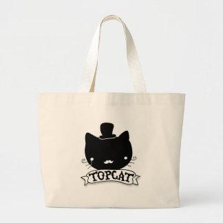 Top Cat Large Tote Bag