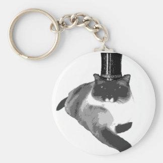 Top Cat Llavero Redondo Tipo Pin
