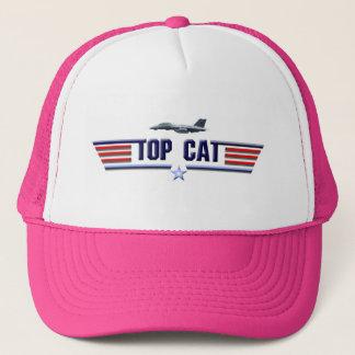 Top Cat Logo Trucker Hat
