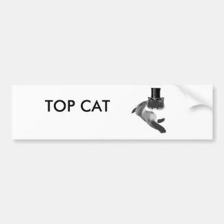 Top Cat Pegatina Para Auto