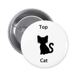 Top Cat Pin Redondo De 2 Pulgadas