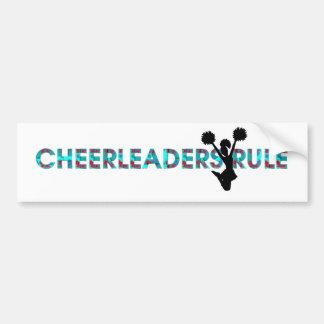 TOP Cheerleaders Rule Bumper Sticker