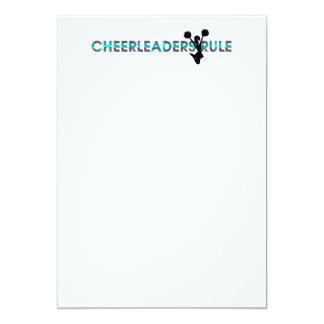 TOP Cheerleaders Rule Card