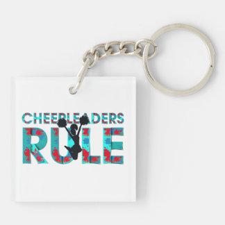 TOP Cheerleaders Rule Keychain