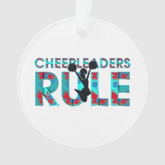 TOP Cheerleaders Rule Ornament