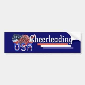 TOP Cheerleading in the USA Bumper Sticker