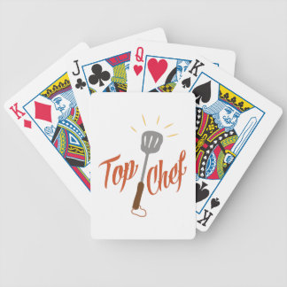 Top Chef Bicycle Playing Cards