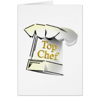 Top Chef Greeting Cards