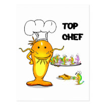 Top Chef Catfish Postcard