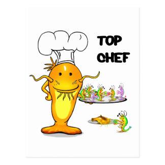 Top Chef Catfish Postcard