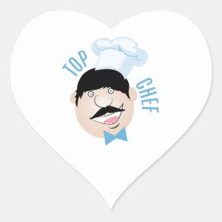 Top Chef Heart Sticker