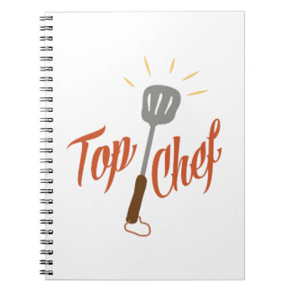 Top Chef Spiral Note Books