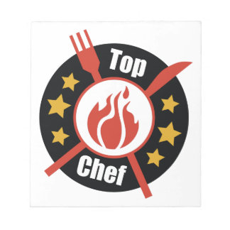 Top Chef Notepad