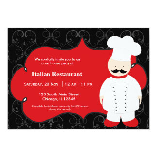 Top Chef Restaurant Personalized Announcement
