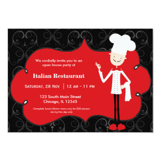 Top Chef Restaurant Personalized Announcements