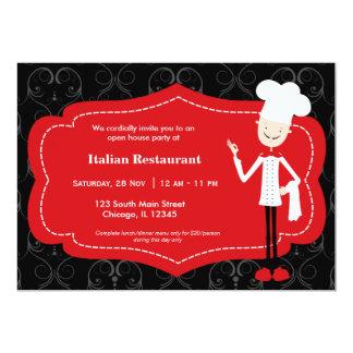 Top Chef Restaurant Invites