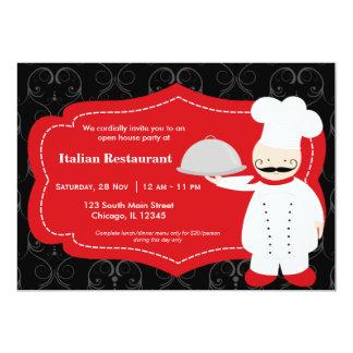 Top Chef Restaurant Invite