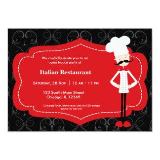 Top Chef Restaurant Invitations