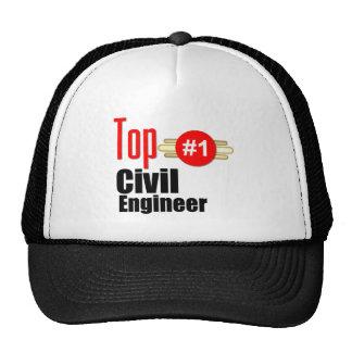 Top Civil Engineer Trucker Hat