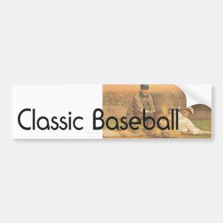 TOP Classic Baseball Bumper Sticker