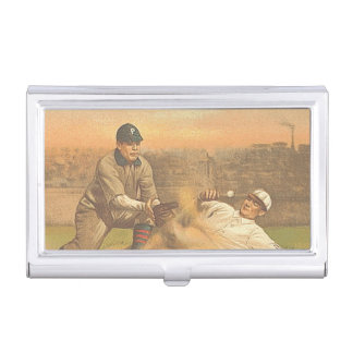 TOP Classic Baseball Case For Business Cards