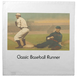 TOP Classic Baseball Cloth Napkin