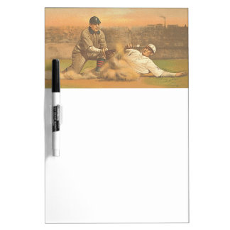 TOP Classic Baseball Dry-Erase Whiteboards